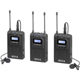 میکروفن یقه ای بویا BOYA BY-WM8 Pro-K2 UHF Dual-Channel Wireless Lavalier System